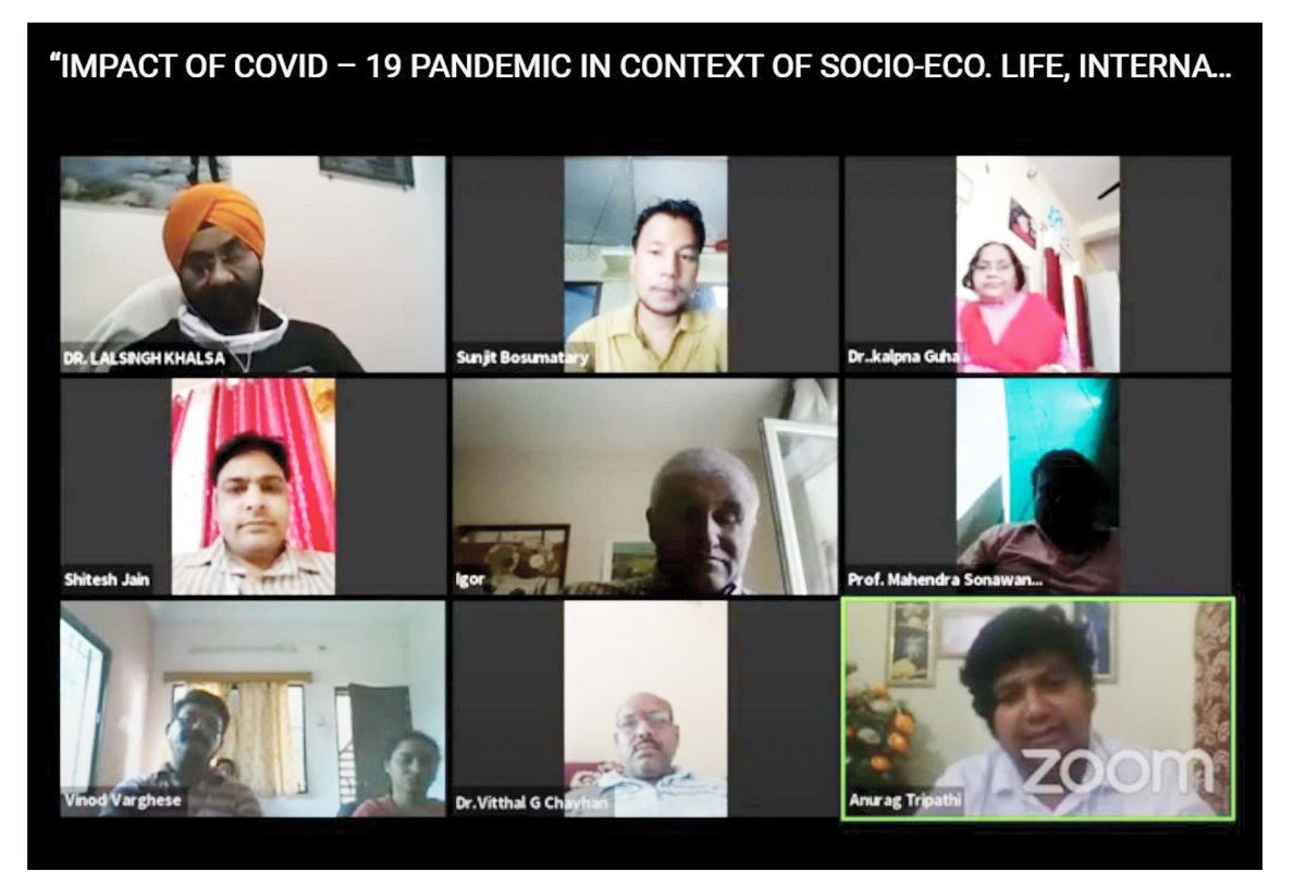 02 Days International Webinar on Impact of COVID-19.... (15 & 16 June 2020)
